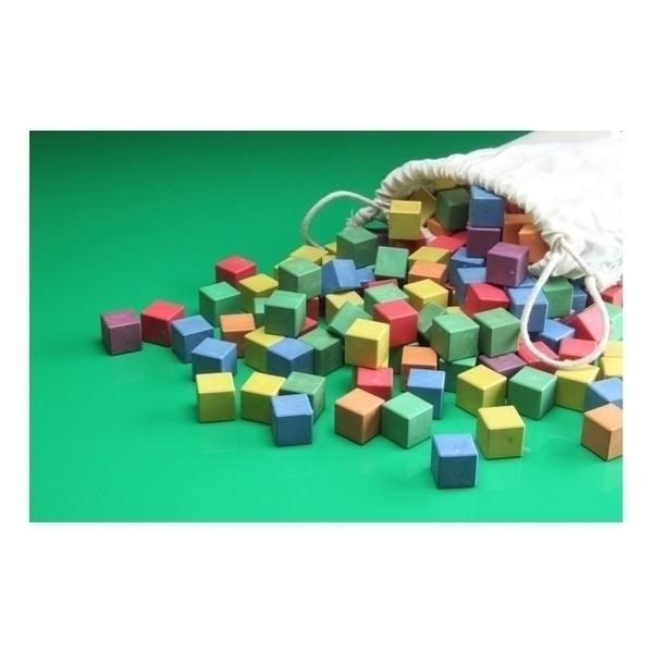 Wissner - Lot de 150 cubes colorés