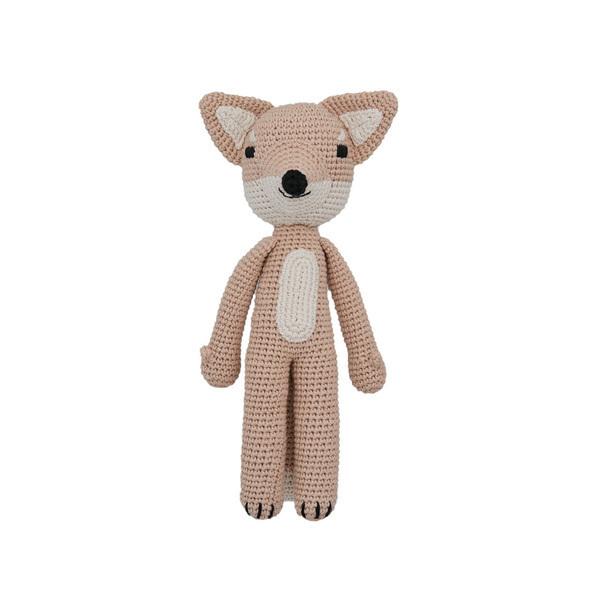 Patti Oslo - Doudou en crochet renard arctique