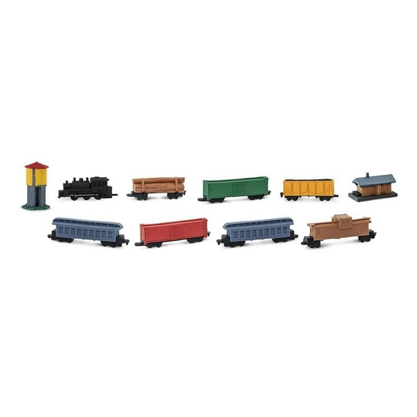 Safari - Figurines Train à vapeur