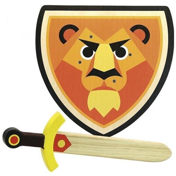 Vilac - Set bouclier et epee Lion