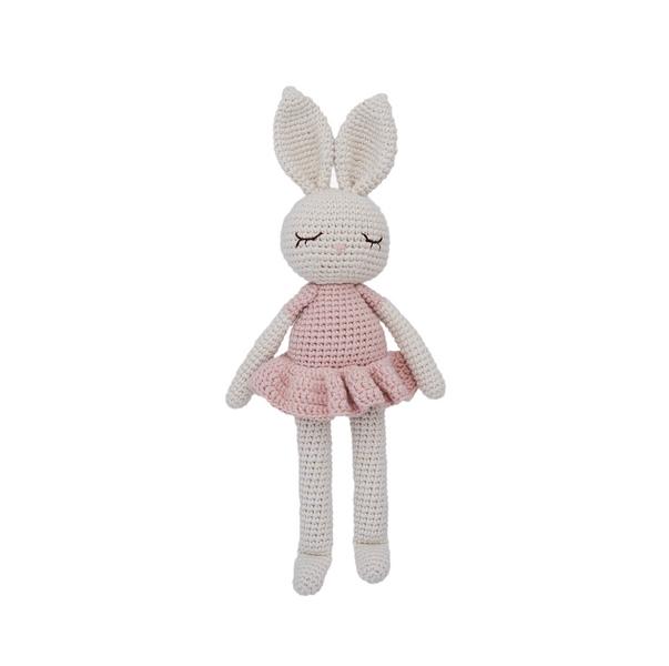 Patti Oslo - Doudou en crochet lapin ballerine