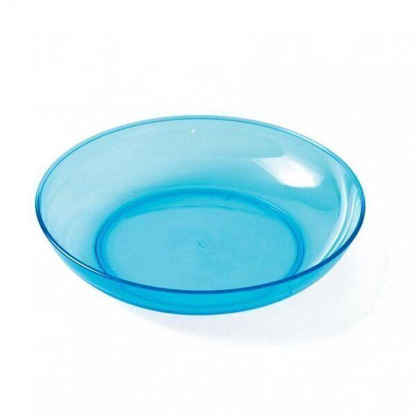 Plastorex - Assiette creuse Copolyester Transparente Bleue - Plastorex
