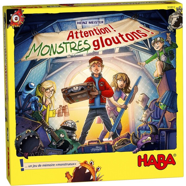Haba - Attention ! Monstres Gloutons !