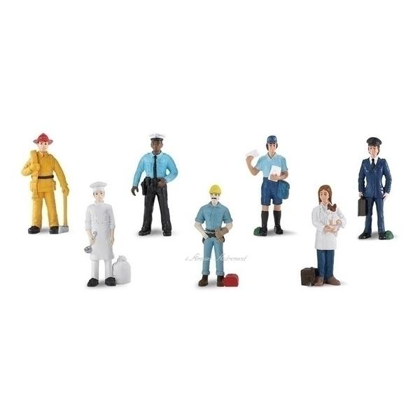 Safari - 7 figurines métiers