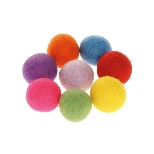 Eduplay - Pompons colorés, grande taille