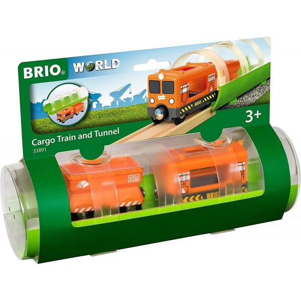 Brio - 33891 Train cargo et tunnel