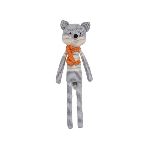 Patti Oslo - Doudou en crochet grand renard