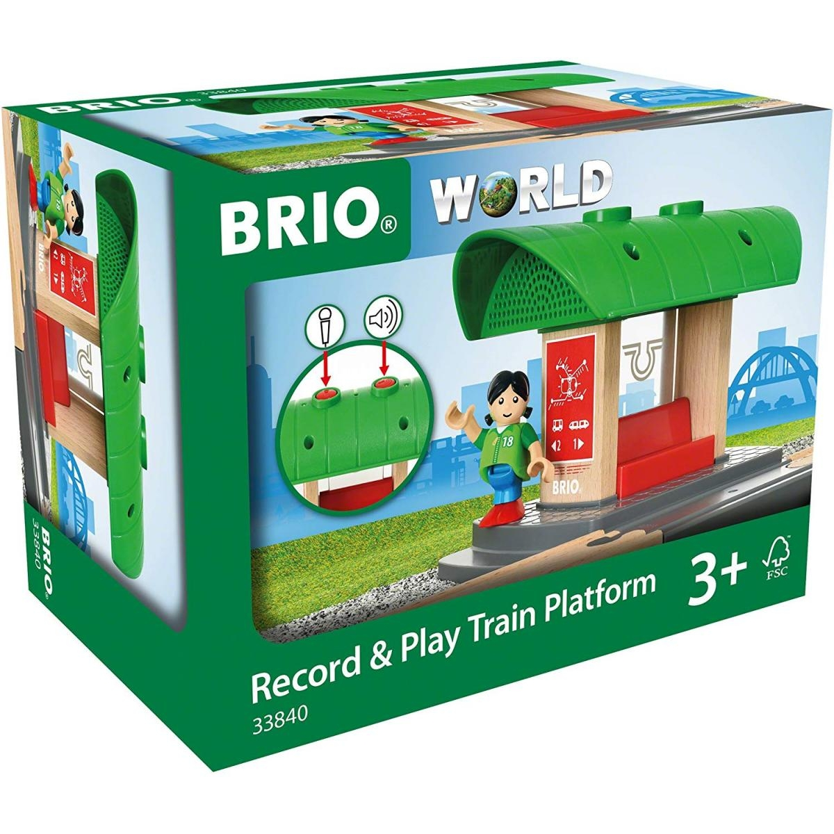 Brio - 33840 Gare a enregistreur vocal