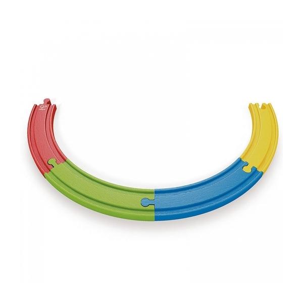 Hape - Rails multicolores