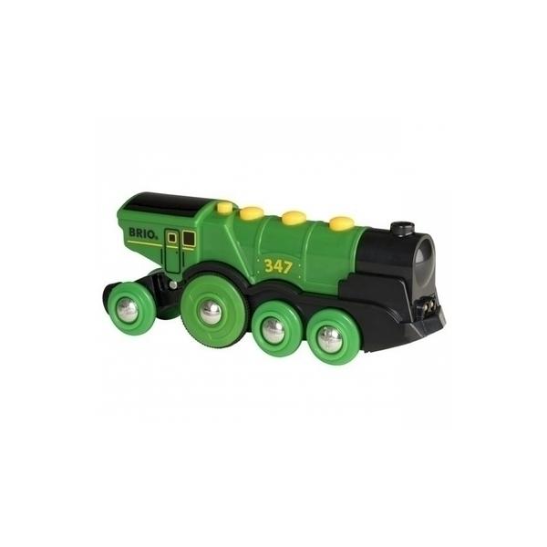 Brio - 33593 Locomotive Verte Puissante a Piles