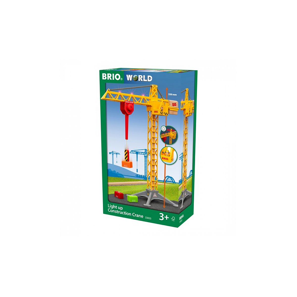 Brio - 33835 Grande grue lumineuse