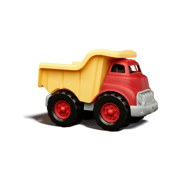Green Toys - Camion tombereau rouge