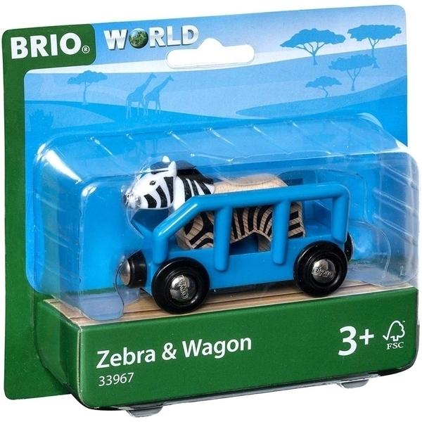 Brio - 33967 Wagon et Zebre