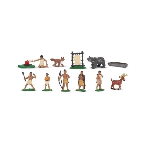 Safari - Figurines indiens Powhatan