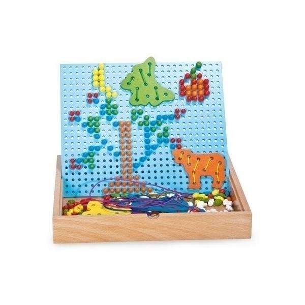 Legler - Puzzle à emboiter et enfiler