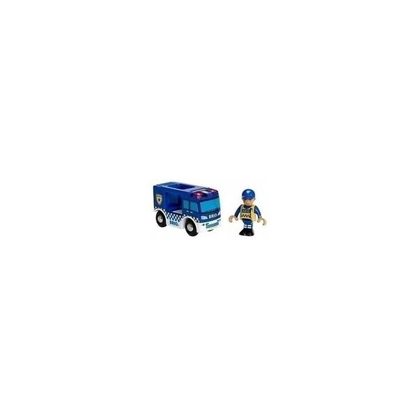 Brio - 33825 Camion de Police Son et Lumiere