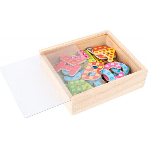 Small Foot - Lettres aimantées en bois pour enfant