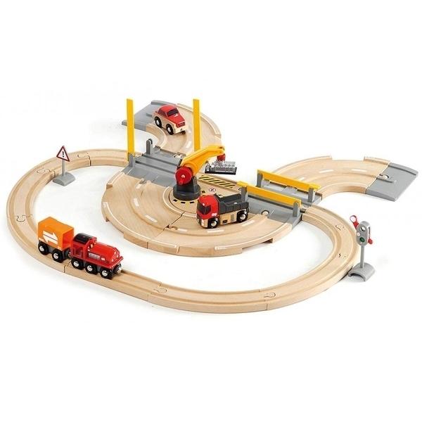 Brio - 33208 Circuit Transfert de Marchandises Rail Route