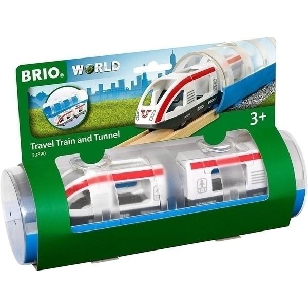 Brio - 33890 Train de voyageurs et tunnel