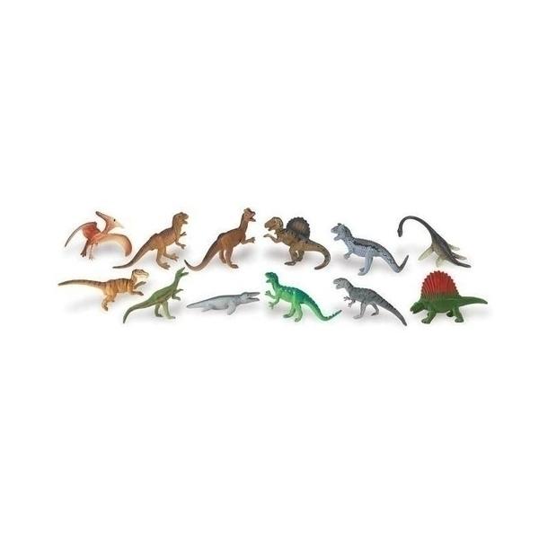 Safari - 12 figurines Dinosaures carnivores