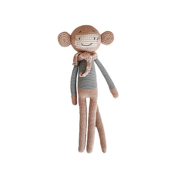 Patti Oslo - Doudou en crochet singe