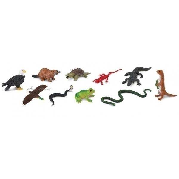 Safari - Figurines animaux de rivière
