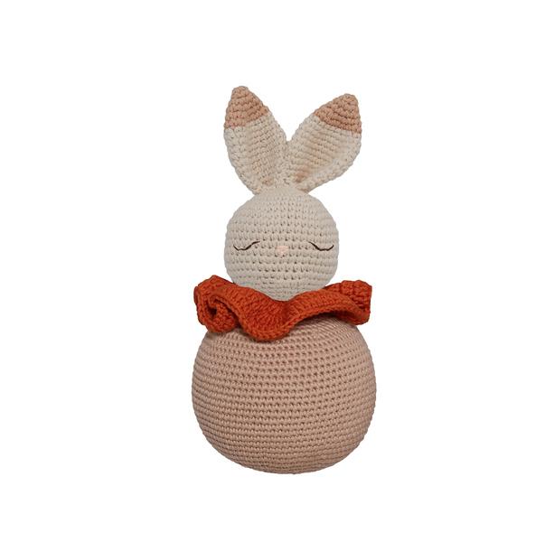 Patti Oslo - Doudou en crochet Rolling Bunny