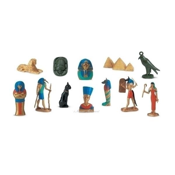 Safari - 12 Figurines Egypte Ancienne