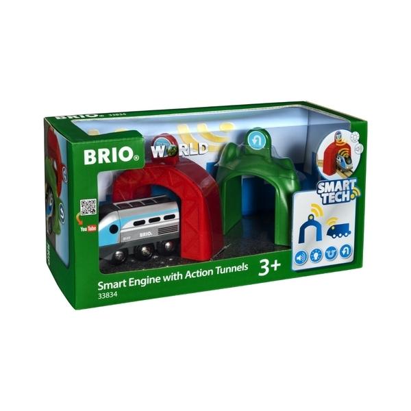 Brio - 33834 Locomotive intelligente et portique