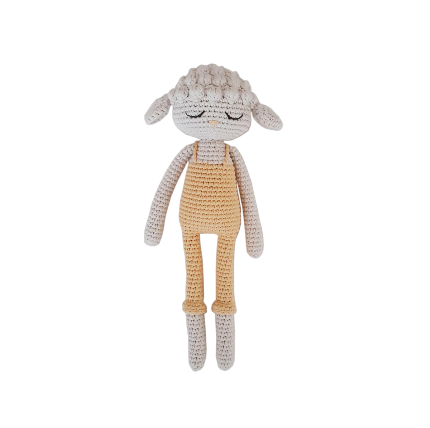 Patti Oslo - Doudou en crochet Agneau