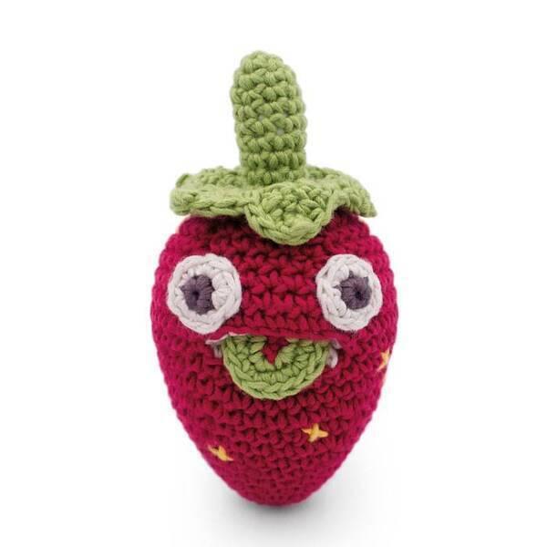 Myum - Blaise mini fraise au crochet - MyuM