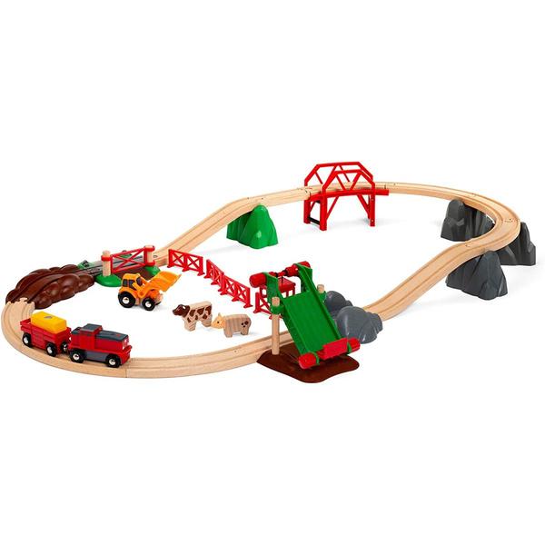 Brio - 33984 Le circuit de la ferme et locomotive a pile