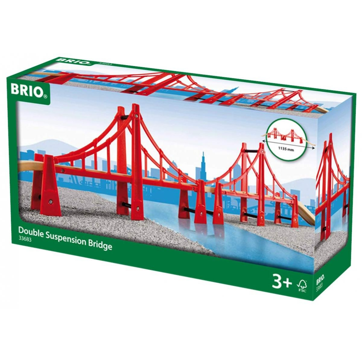 Brio - 33683 Double Pont Suspendu