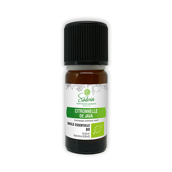 Salvia - Citronnelle de Java - huile essentielle bio* - 10 mL