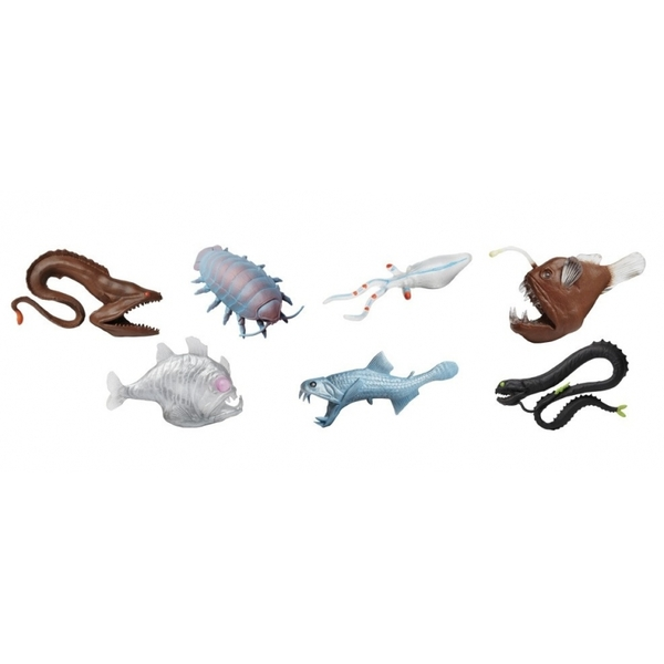 Safari - Figurines Créatures des Fonds Marins