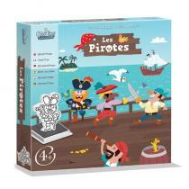 CreaLign - Coffret Tampons Les Pirates