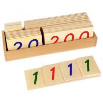 MontessoriSamuserAutrement - Grandes cartes des nombres