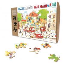 Michèle Wilson - Puzzle MW Les Pompiers 50 Pièces
