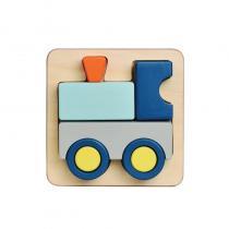 BlueRibbon - Puzzle relief Train