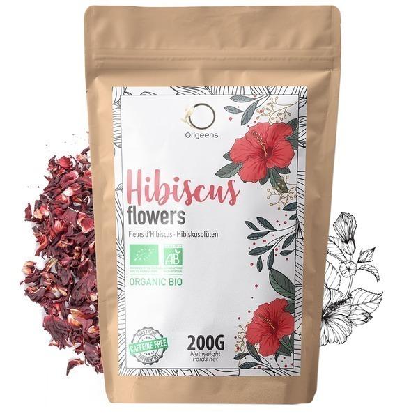 Origeens - Fleurs d'Hibiscus Bio ~ 200g