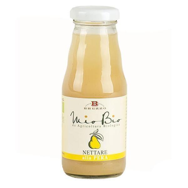 Saveurs de Tosca - Jus de poire bio - Nectar de fruits bio de Brezzo - 200 ml