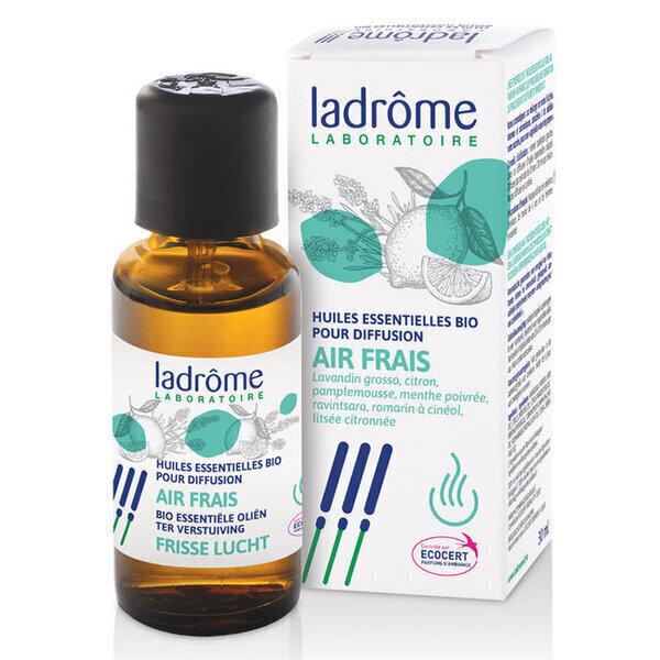 Ladrôme - Air Frais - Mélange huiles essentielles pour diffuseur bio 30ml