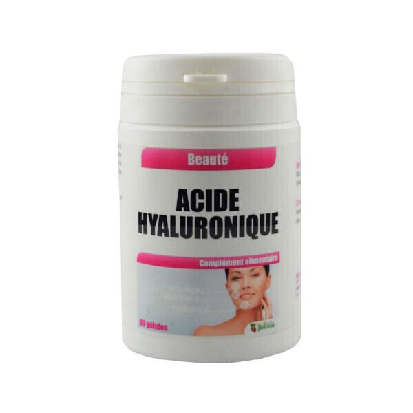 Jolivia - Acide Hyaluronique - 60 gélules végétales de 60 mg