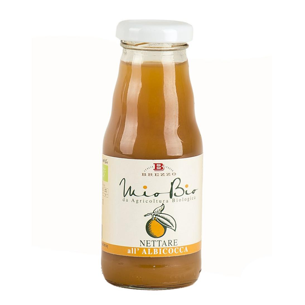 Saveurs de Tosca - Jus d'abricot bio - Nectar de fruits bio de Brezzo - 200 ml
