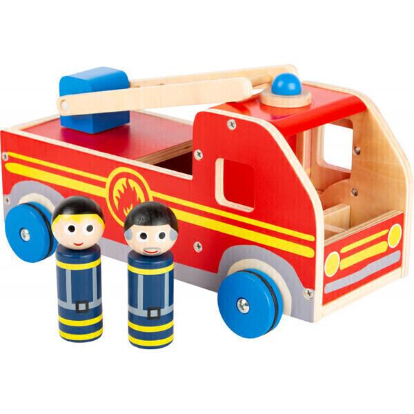 Small Foot - Camion des Pas Peur Pompiers