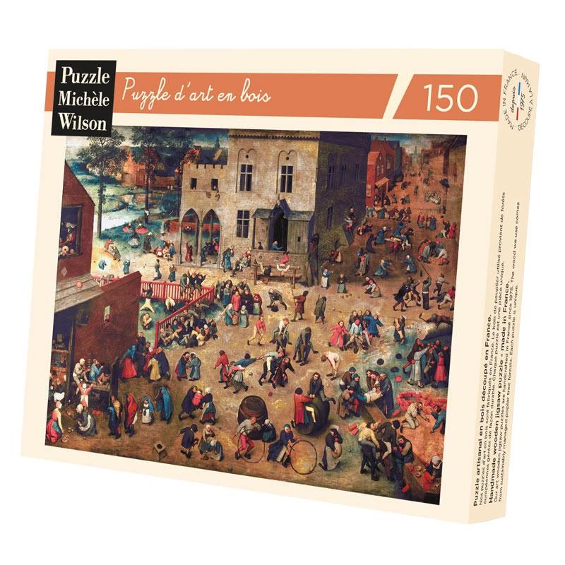 Michèle Wilson - Puzzle Michèle Wilson - Jeux D'Enfants 150 Pièces
