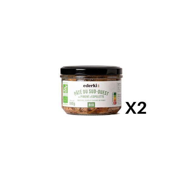 Ederki - Pâté au piment d'Espelette- Lot de 2