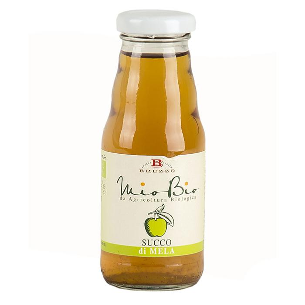 Saveurs de Tosca - Jus de pomme bio - Nectar de fruits bio de Brezzo - 200 ml