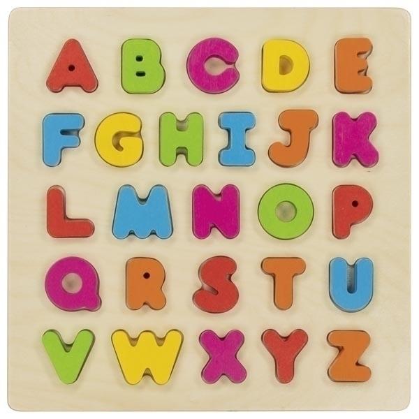 Goki - Puzzle alphabet en 3D