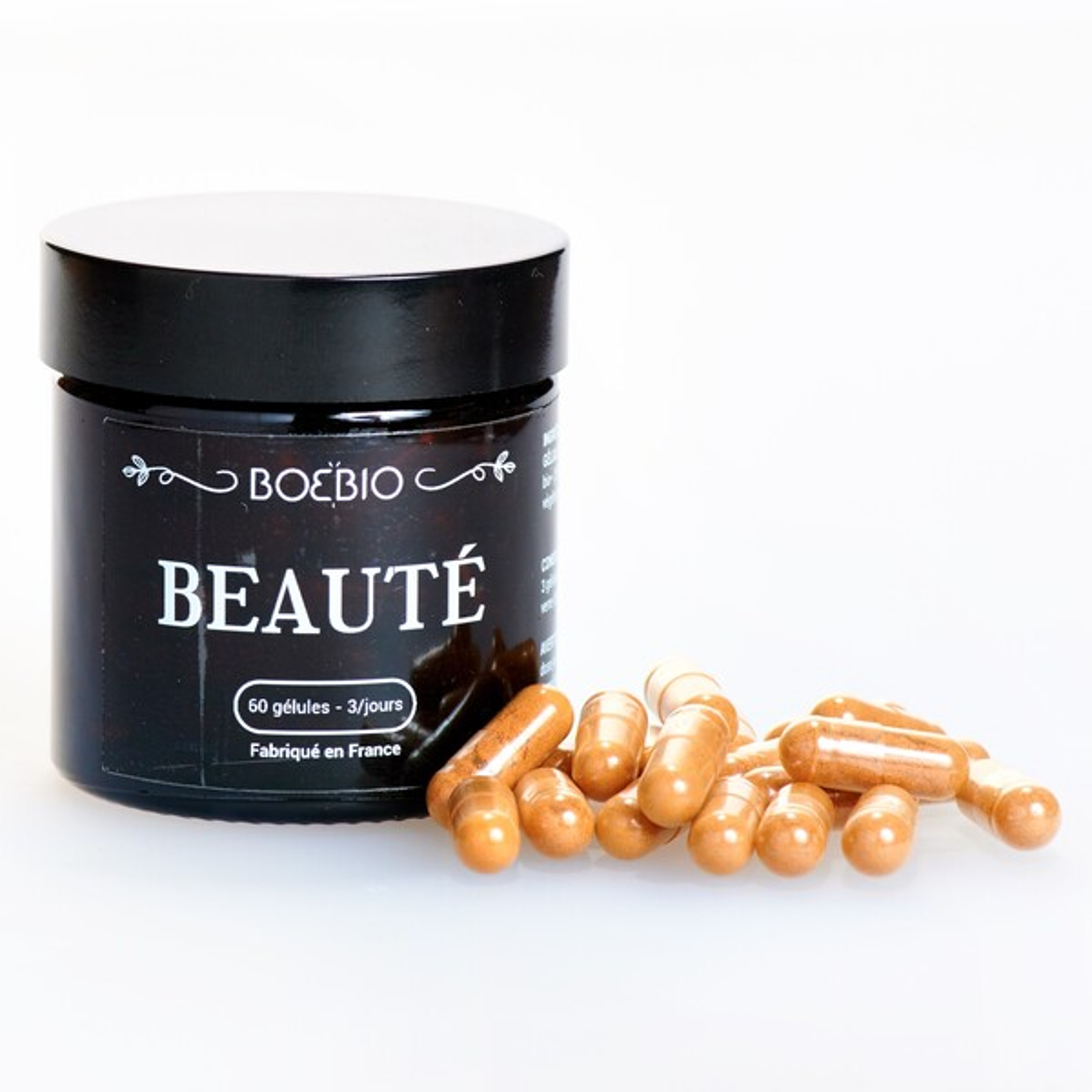 Bioptimal - Beauté - BoeBio  - Peau Grasse - Urucum - Bardane Bio 60 gélules